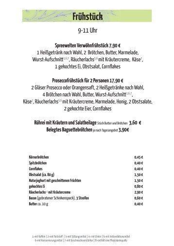 Speisekarte November 2012.indd - Spreewelten