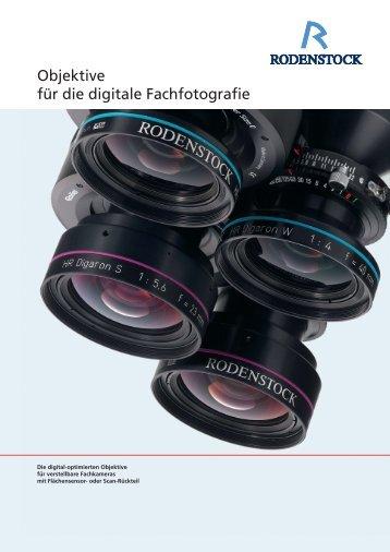 Objektive für die digitale Fachfotografie - Rodenstock Photo Optics