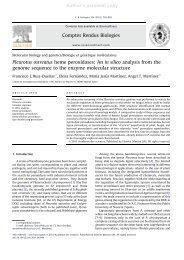 Author's personal copy Pleurotus ostreatus heme peroxidases: An in ...