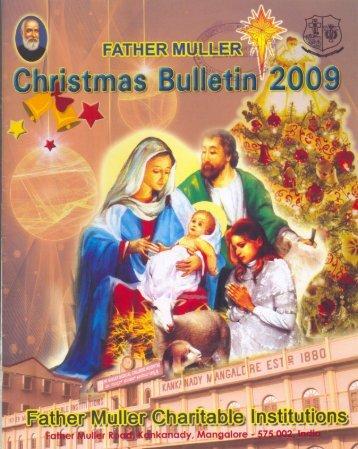 """Oct. – Dec. 2009 """"Christmas Bulletin"""" - Mullerian"""