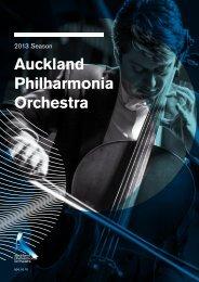 3 June - the Auckland Philharmonia