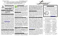 Last Sunday Bulletin - St. Apollinaris Catholic Church