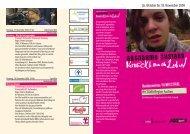 Flyer Aachen - ausnahme zustand - Filmfest: Ausnahme Zustand