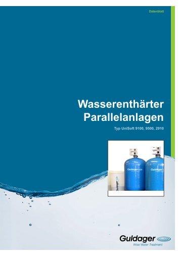Wasserenthärter Parallelanlagen - Guldager (Schweiz)