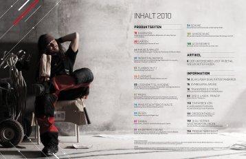 INHALT 2010
