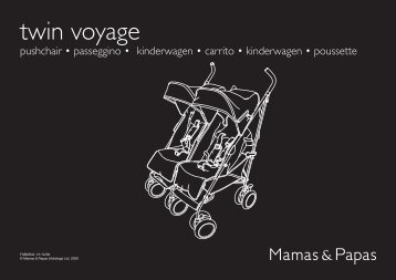 twin voyage - Mamas & Papas
