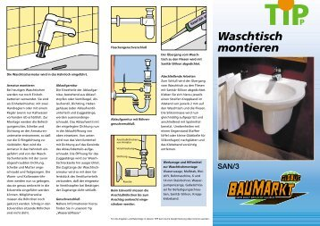 waschtisch montieren interesting waschtisch montieren with waschtisch montieren nostalgie. Black Bedroom Furniture Sets. Home Design Ideas
