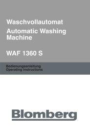 WAF 1360 Blomberg - 1store4.de