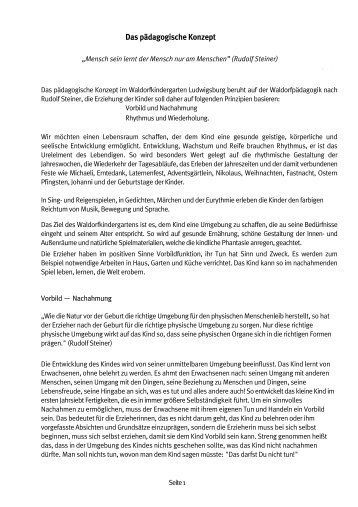 Unser Pädagogisches Konzept als PDF - Waldorfkindergarten ...