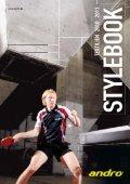 Andro Katalog 2010 - Tischtennis.biz - Seite 2
