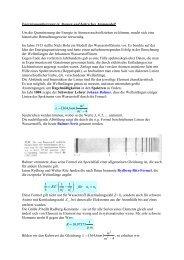 Energiequantisierung in Atomen und bohrsches Atommodell Um die ...