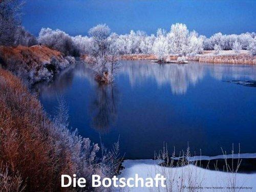 Die Botschaft - Heinz Hofstetter Schweiz - firstfruitfamily ...