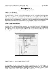 Vorlesung Struktur der Materie, Prof - DELTA, Uni Dortmund