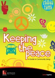 Keeping the Peace - Bristol Neighbours