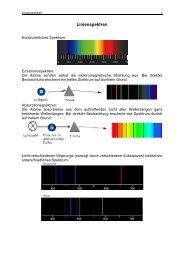 Linienspektren