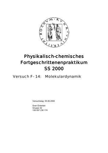 Molekulardynamik - funnycreature.de