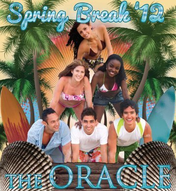 A rousing spring break playlist - The Oracle