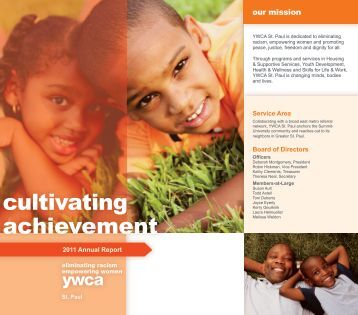 Annual Report - YWCA St. Paul