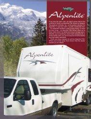 2007 Alpenlite Fifth-Wheel Brochure - Rvguidebook.com