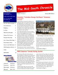 The Mid-South Chronicle - National Weather Service Southern ...