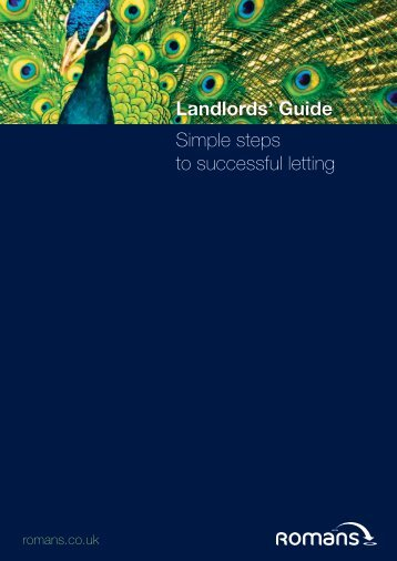 our latest Lettings Guide. - Romans