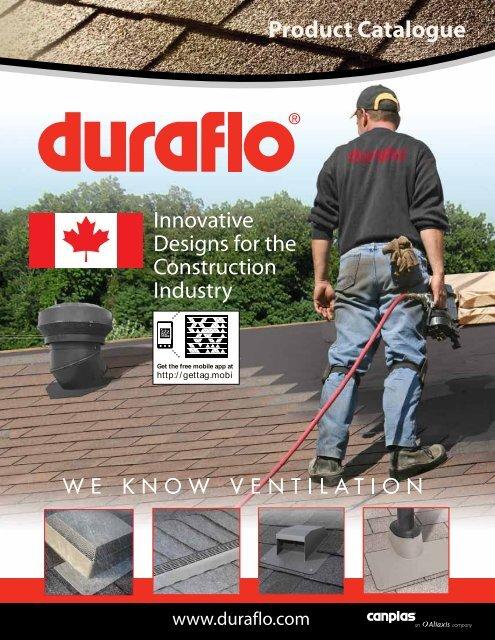 Duraflo 6050BR Roof Vent 50 Square Inch