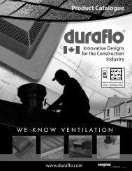 Product Catalogue - Duraflo