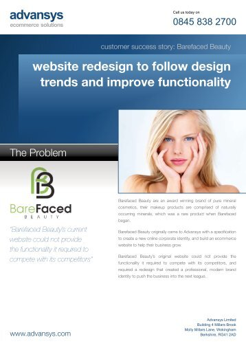 website redesign to follow design trends and improve functionality