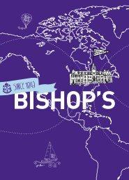 English Viewbook [PDF] - Bishop's University