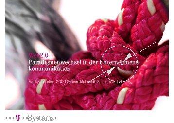 Web 2.0 – Paradigmenwechsel in der Unternehmenskommunikation ...