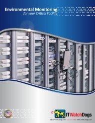 IT Watchdogs Product Catalog - pdf - Sensors24x7.com