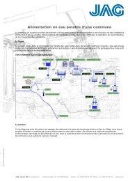 Pompage et distribution de l'eau traitée - JAG Jakob AG ...