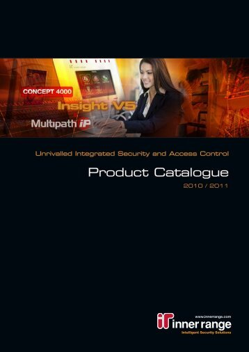 Inner Range Product Catalogue 2010 / 2011