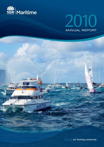 NSW Maritime Annual Report 2010