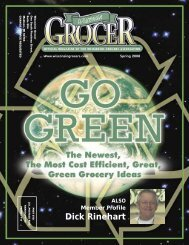Dick Rinehart - Wisconsin Grocers Association
