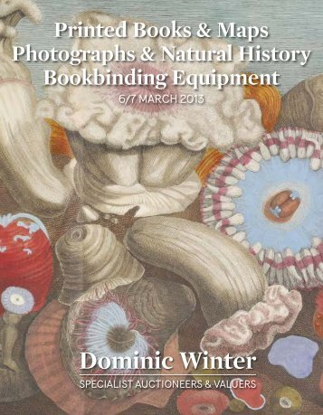 PDF version of the catalogue - Dominic Winter Book Auctions
