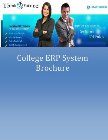 Download CERPS Information Brochure - Think 1 Future
