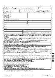 Kundenstammvertrag Einzelkonto - Raiffeisenbank Dellmensingen eG