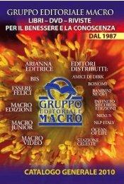 1-26.qxd:CATALOGO 2008 - Macro Edizioni