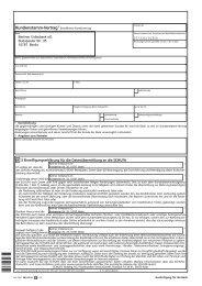 Kunden-Stammvertrag Einzelperson (pdf) - Berliner Volksbank