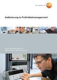 Kalibrierung & Prüfmittelmanagement - Testo Industrial Services ...