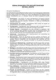 MOL Group Business Partner Code of Ethics (pdf