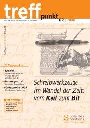 Schreibwerkzeuge im Wandel der Zeit: vom Keil zum Bit