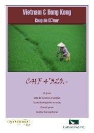 Vietnam & Hong Kong CHF 4'320.- - Jerrycan