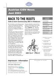 Ausgabe 2/2003 (PDF 4MB) - CISV
