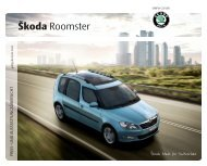 Škoda Roomster - J.H. Keller AG
