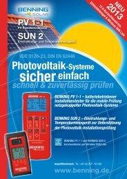 Photovoltaik - Benning