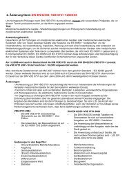 2. Änderung Norm DIN EN 62353; VDE 0751-1:2008-08 - TML