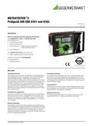 Metratester 5.pdf - PEWA Messtechnik GmbH