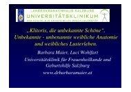 Klitoris, die unbekannte Schöne - Österreichische Gesellschaft für ...